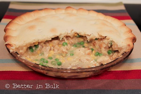 chicken pot pie Thanksgiving leftover recipe
