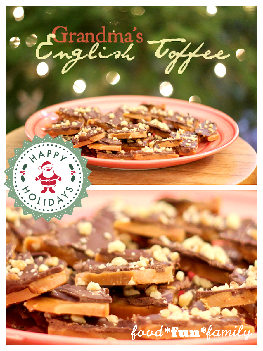Grandma's English Toffee Recipe