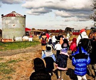 The annual Pumpkin Patch field trip!