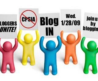 Bloggers Unite Against CPSIA