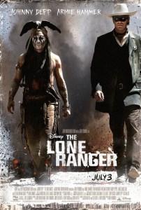 new Disney LONE ranger movie poster