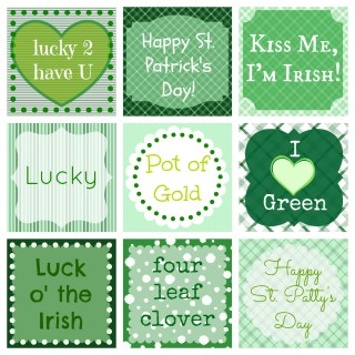 {Free} St. Patrick's Day Printables