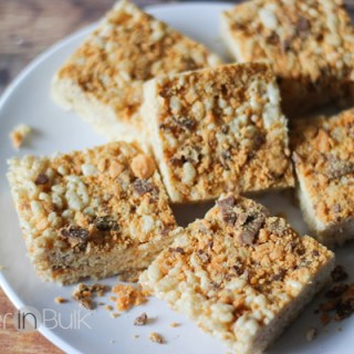 butterfinger rice crispy treats recipe