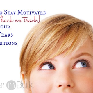 How to Stay Motivated (or Get Back on Track) With New Years Resolutions