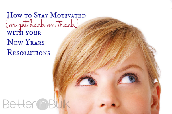 stay motivated with new years resolutions
