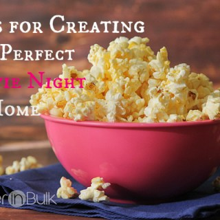tips for creating the perfect movie night