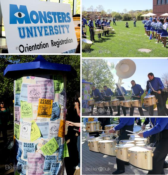 Monsters University Freshman orientation at Pixar Animation Studios