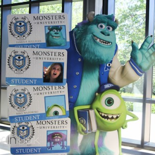 First Day on Campus: Monsters University #MonstersUEvent