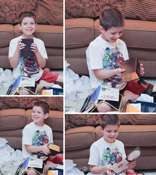 AJs presents from grandma