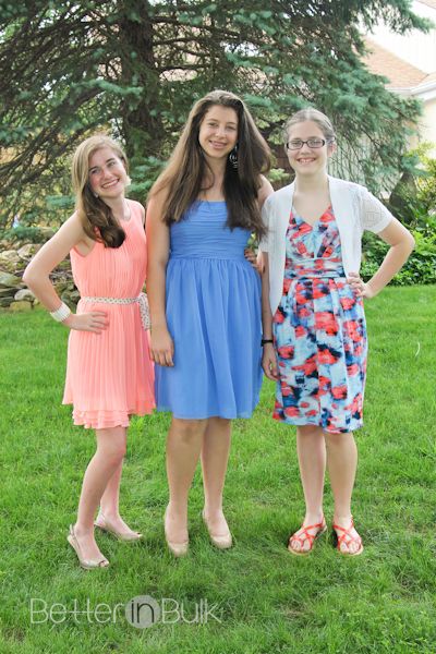 8th grade graduation friends