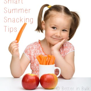 Smart Summer Snacking Tips – #WonderfulSummer