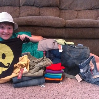 JCPenney back to school shopping #firstdaylook