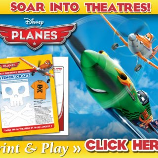 New Disney's PLANES Activity Sheets