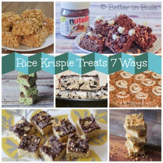Rice Krispie Treats recipe round up