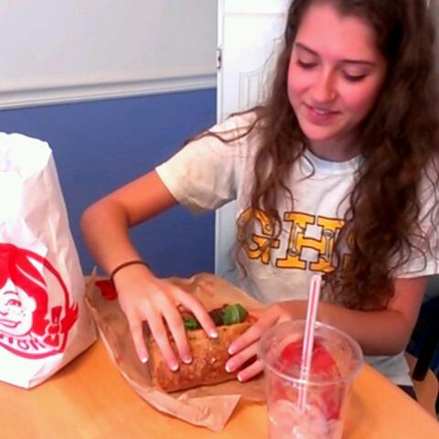 Wendy's flatbread sandwich #6secondsflat sweepstakes