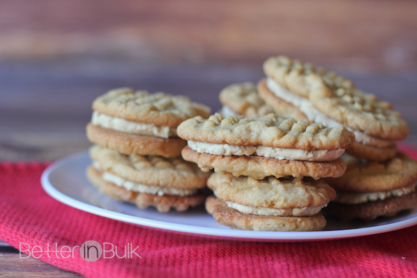 Copycat Nutter Butter recipe from Food Fun Family - these homemade cookies are even more delicious than the store bought variety