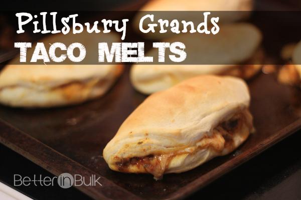 Pillsbury Grands taco melts recipe