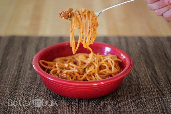 one-pot spaghetti #15minutesuppers