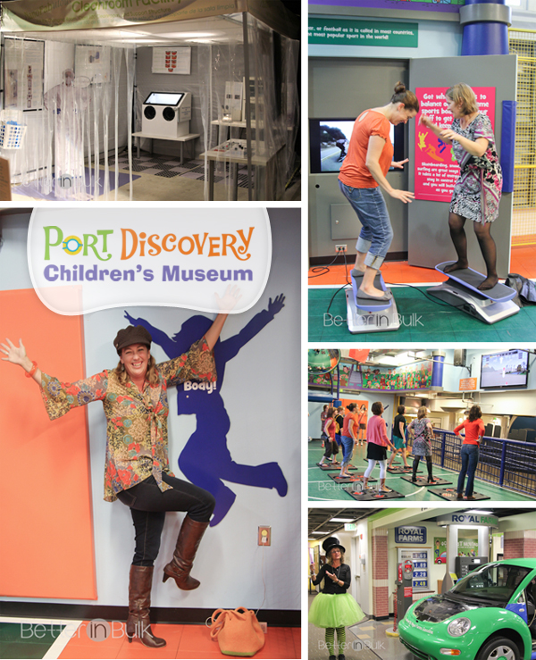 Port Discovery Baltimore CHIldren's museum