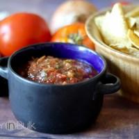 Easy Roasted Tomato Salsa Recipe