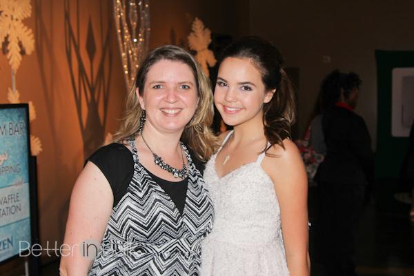 Disney Frozen white carpet party with Bailee Madison
