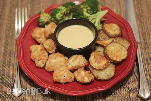 Forget the fast food fake chicken nuggets. These are truly the best-ever baked chicken nuggets...and you can make them at home. This quick dinner recipe is one of our family's favorite go-to meals