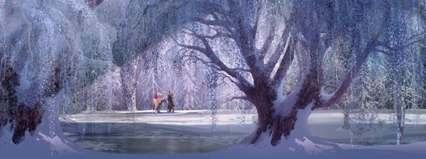 """FROZEN"" concept art. ©2013 Disney. All Rights Reserved."