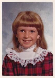 Lolli in 1st grade