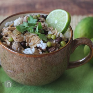 caribbean cilantro-lime chicken soup