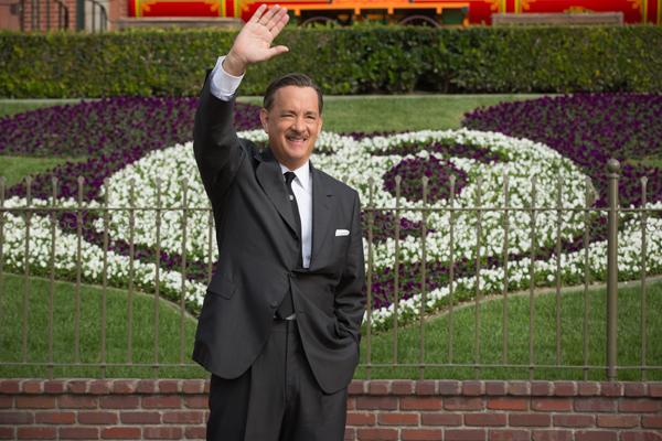 "Walt Disney (Tom Hanks) inDisney's ""Saving Mr. Banks""."