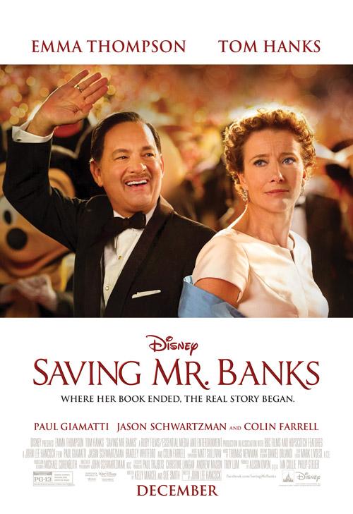Saving Mr Banks movie poster