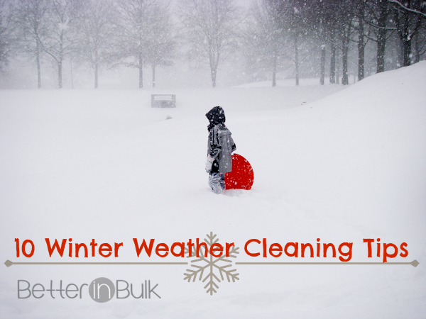 10 Winter Weather Cleaning Tips