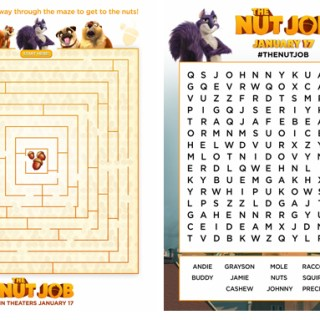 The Nut Job Activity Sheets {Free Printables}