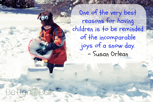 snow day quote
