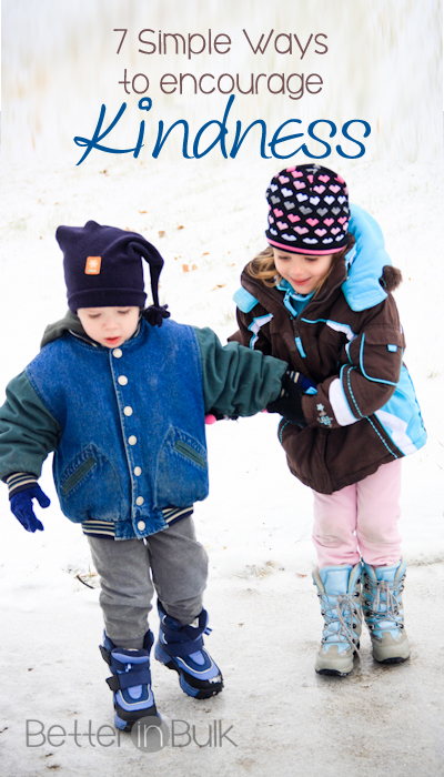 7 Simple Ways to Encourage Kindness in Children