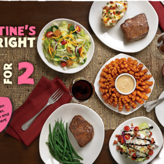 """Do Valentine's Day """"Just Right"""" at Outback Steakhouse"""