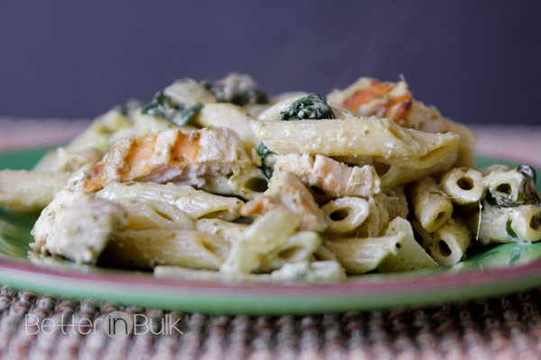 pesto chicken pasta #15minutesuppers