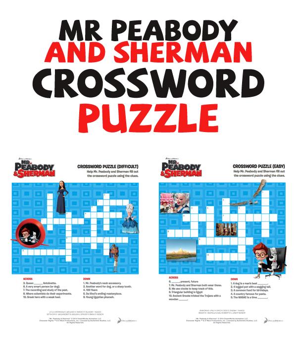 MrPeabodyandSherman-Crossword