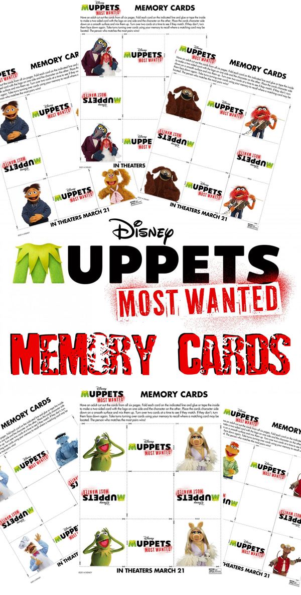 Muppets Memory Cards
