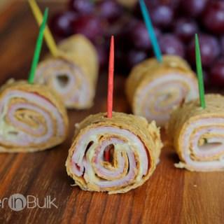 Ham and Swiss Cheese Pinwheels #MyLifeIngredients