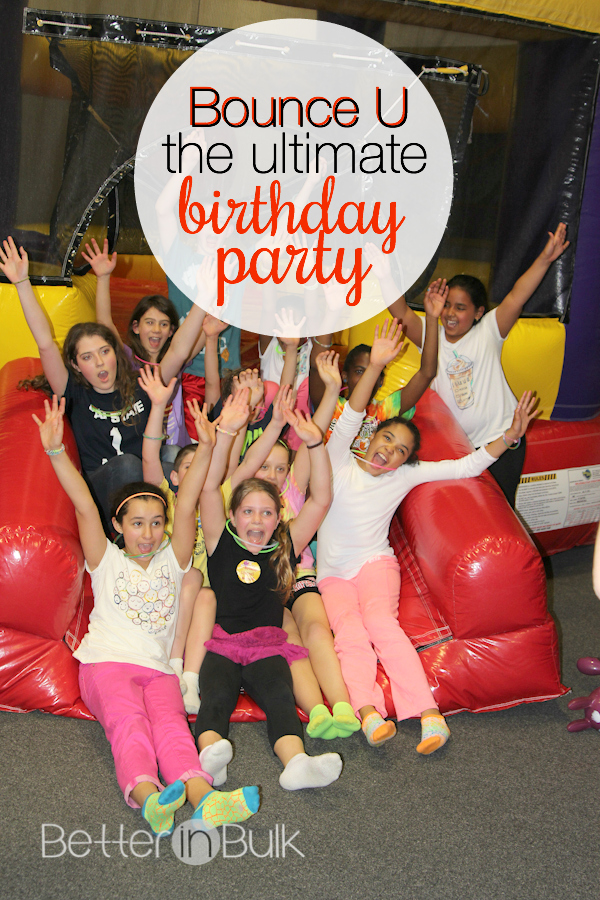 Planning a birthday party for your child? Check out why I think Bounce U is the ultimate birthday party for kids (by the way - parents LOVE it, too!)