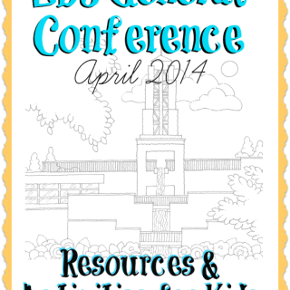 LDS general conference resources for kids