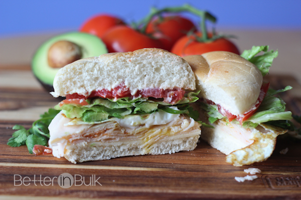sunny chipotle chicken sandwich #delifreshbold