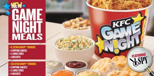 KFC game night