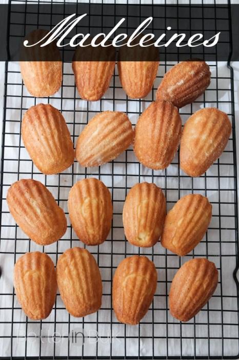 Madeleines cookie recipe