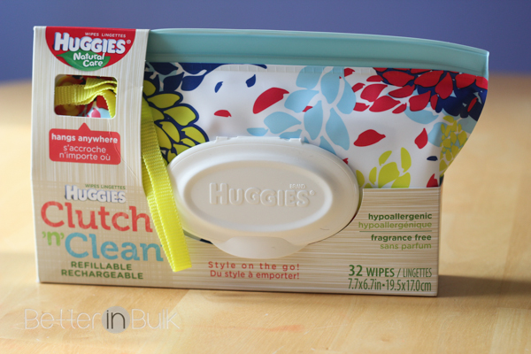 huggies clutch and clean wipes