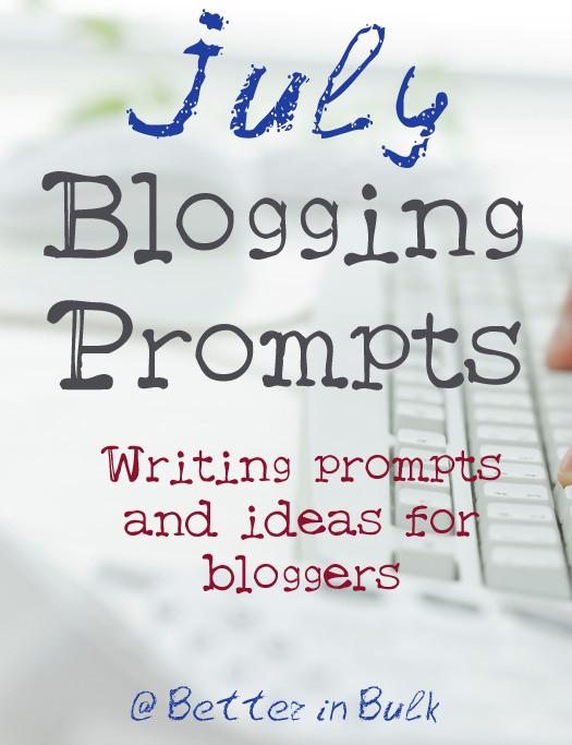 july blogging prompts #blogprompts