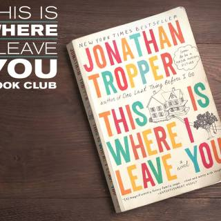 This is Where I Leave You Book Club #TIWILY