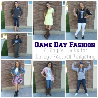Game Day Fashion – Seven Simple Looks for College Football Tailgating