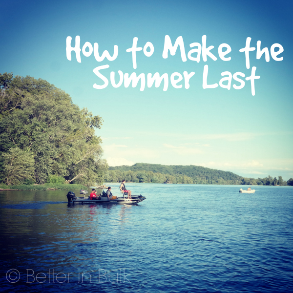 how to make summer last